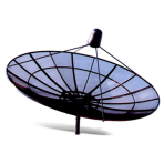 """Eight"" ST-7, Satellite Mesh Antenna"